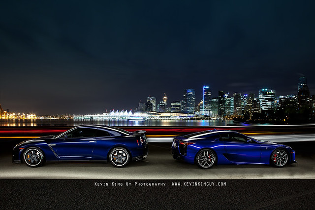 Lexus LFA vs GTR http://www.flickr.com/photos/kevinuy/7110784517/