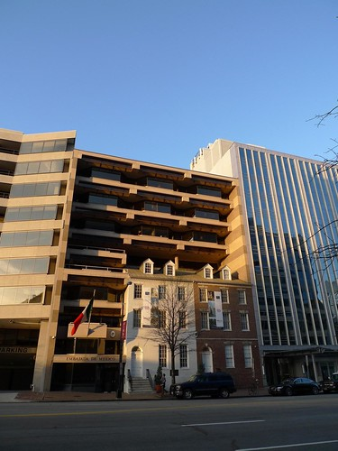 Crazy DC Facadism (Mexican Embassy?)