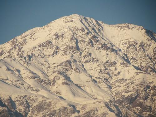 de los natural nieve andes belleza cordillera imponente