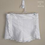 Class Picnic Shorts with Ruffles