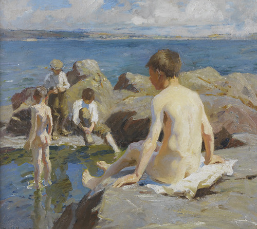 Harold Harvey - Bathers [1913]