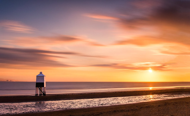 Nuclear Separation - Burnham-On-Sea Sunset