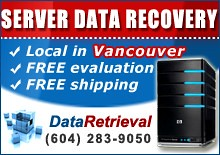 Server Datarecovery Vancouver