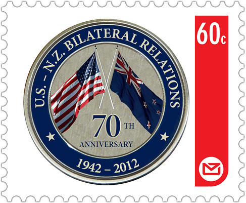 70th Anniversary Stamp.