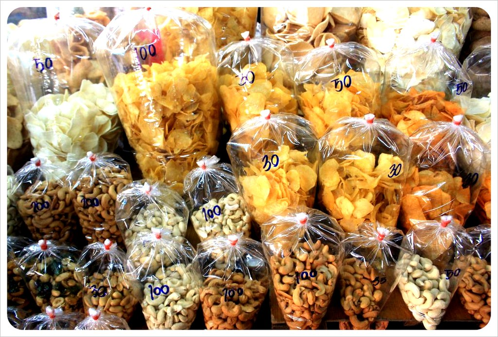 chips & nuts chiang mai market