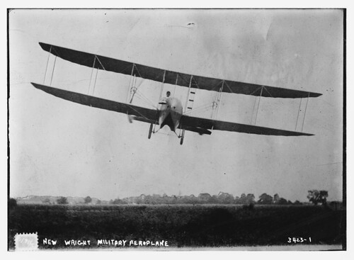 New Wright Military Aeroplane  (LOC)