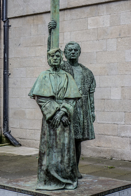 St Mary 39 S Pro Cathedral Statue Dublin Martyrs The City Flickr Photo Sharing