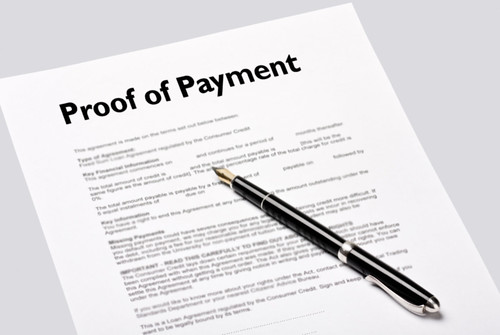 shutterstock_103165316_proof of pay