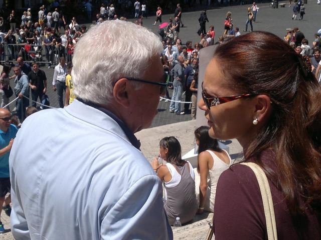 Rome Masters draw ceremony: Nicola Pietrangeli