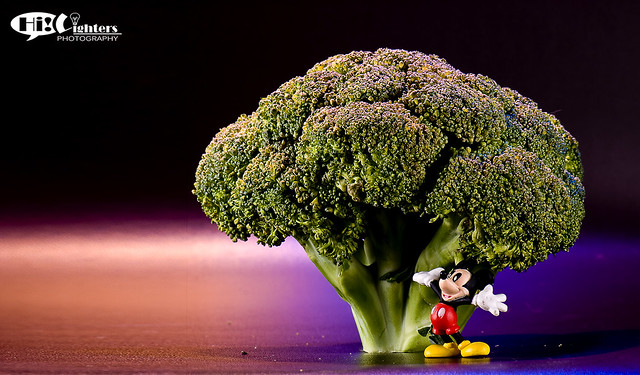 Mickey wonders for Healthy Broccoli