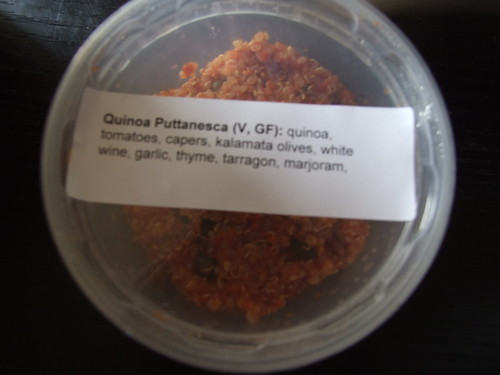 Quinoa Puttanesca from The Love Muffin Bakery