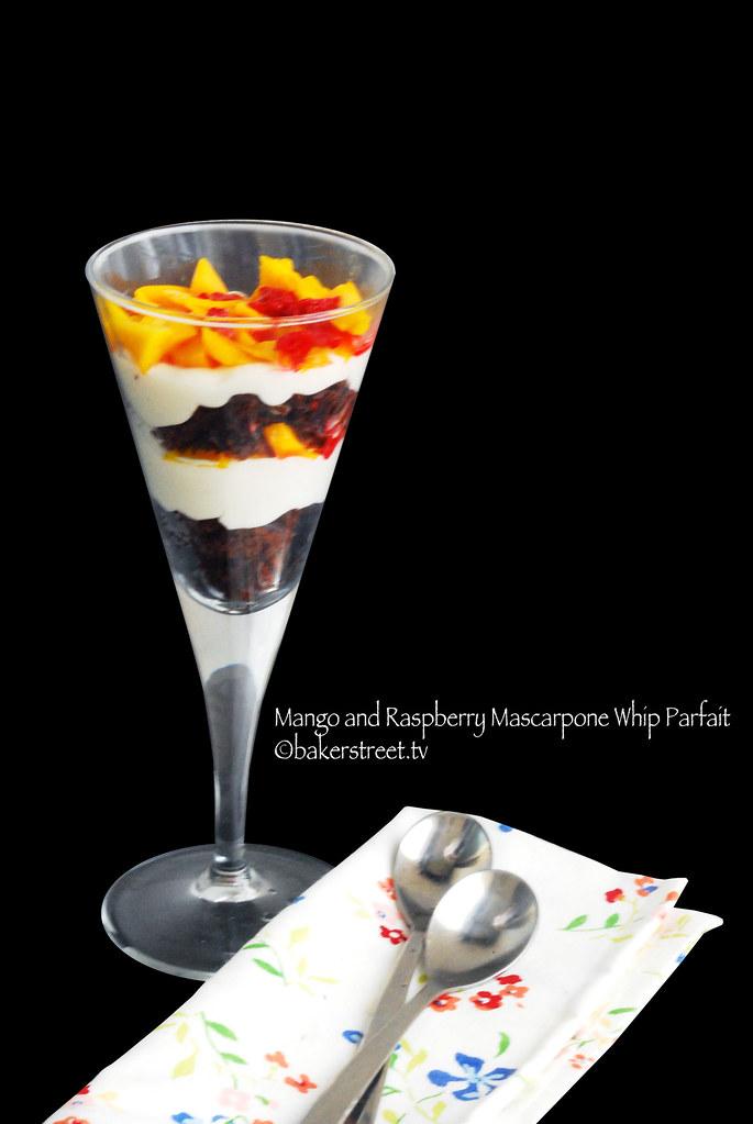 Mango and Raspberry Mascarpone Whip Parfait2
