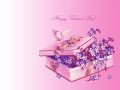 gift, flower, purple, violet, lilac, lavender, illustration, pink, petal,