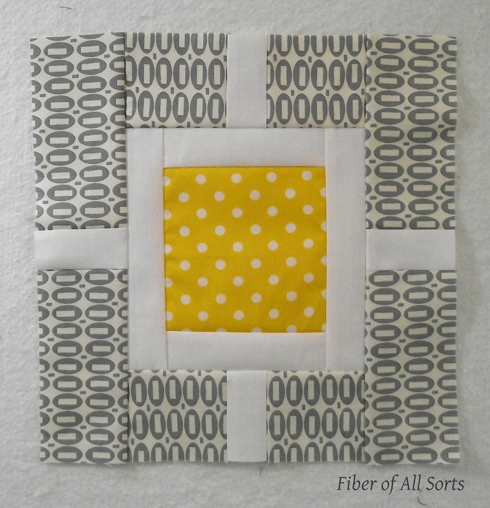 Sew Modern Bee - Block 1 May '12