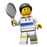 8909 Team GB Tennisplayer