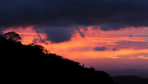 landscape costarica monteverde cloudforest elsol nicoyapeninsula kostarika