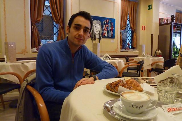 136 - Desayunando en Campo Santo Estefano
