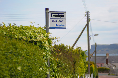 Ulsterbus Bus Stop
