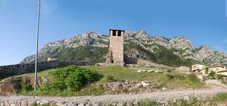 Albanian tower panorama