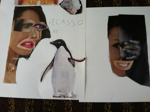 2012 summer art school: picasso portraits