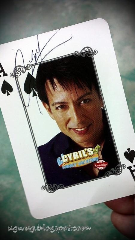 Cyril's Autograph