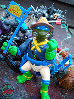 """MUTANT MILITARY 2"" TEENAGE MUTANT NINJA TURTLES ::  KOOKIE KAVALRY LEO xxx / SHREDDER'S LAST STAND (( 1992 ))"