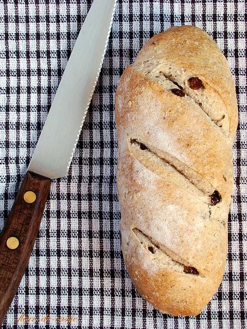 хлеб с изюмом и тмином 1-1