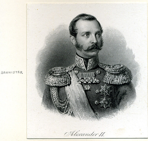 Alexander II portrait by Bannister