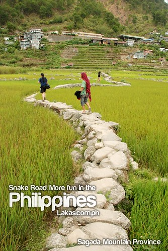 Snake Road. More fun in the Philippines