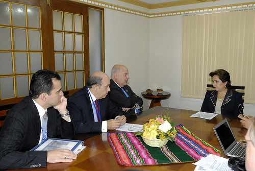 OAS Secretary General met with Mexico's Secretary for Foreign Affairs