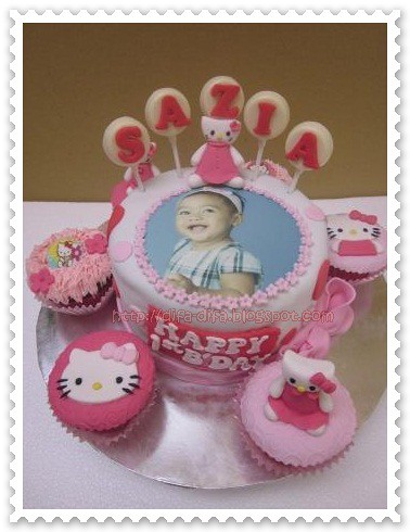 Hello Kitty for Sazia by DiFa Cakes