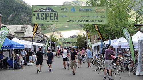 Outside in Aspen mountain bikes