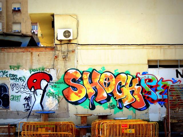 graffiti | seta . shock | barcelona 2012