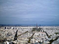 Vista de París desde la torre Montparnasse