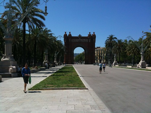 The Arc from the Pg. Lluis Companys