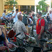 People mingle at Cargo Bike Roll Call, June 2012 by Steven Vance