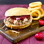 Pulled Pork Sandwiches with Cherry Barbecue Sauce