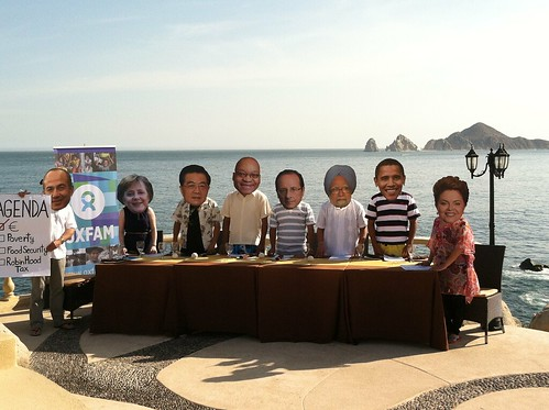 G20 Leaders Gather for a Working Lunch in Los Cabos