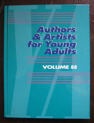 Authors & Artists for Young Adults, vol 88