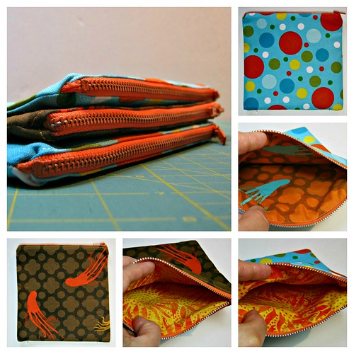 Teacher Pouch Collage