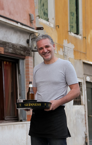 Waiter, Venice