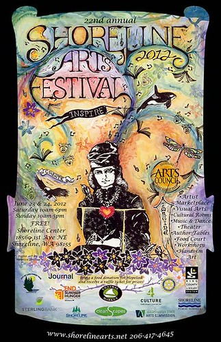 2012 Annual Shorline Arts Festival | Two Days of FREE Community & Multicultural Art
