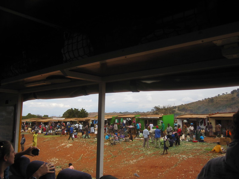 Malawi Market from Truck Africa