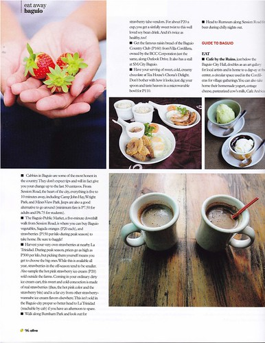 Olive Magazine PHL Issue 8: Eat Like A Local