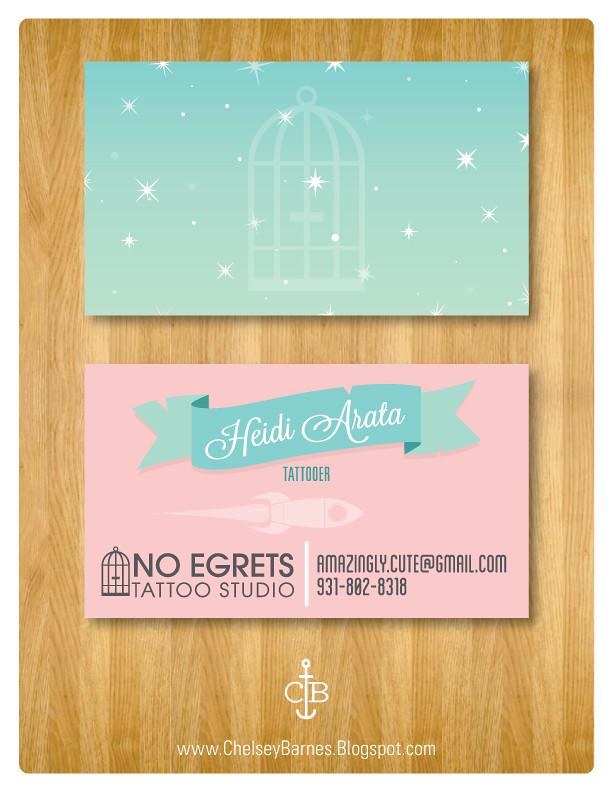 Business Card Concept for Heidi Arata!