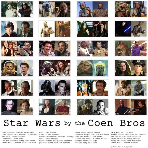If the Coens did Star Wars by VLNSNYC