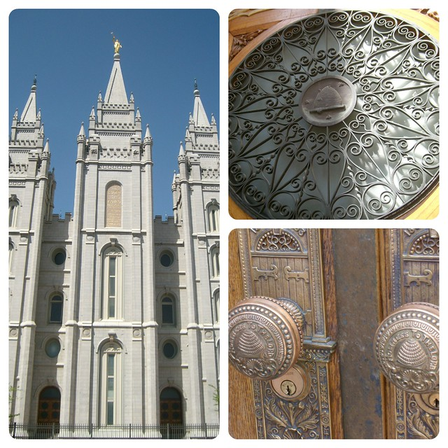 Salt Lake Temple Collage