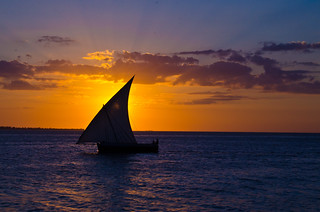 Dhow Sail Sunset