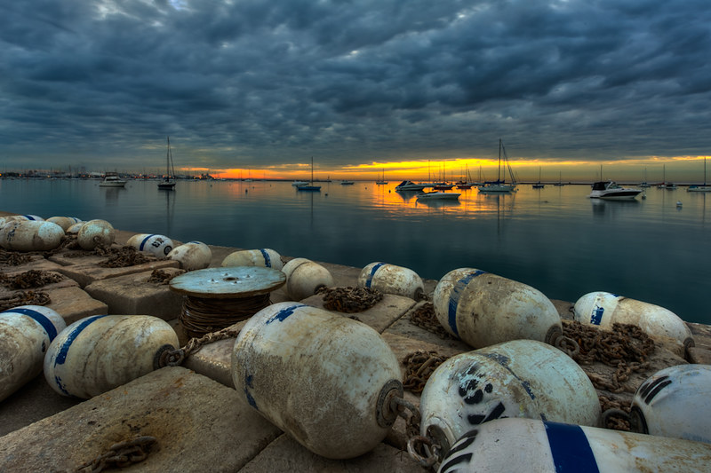 Buoys At Dawn.jpg