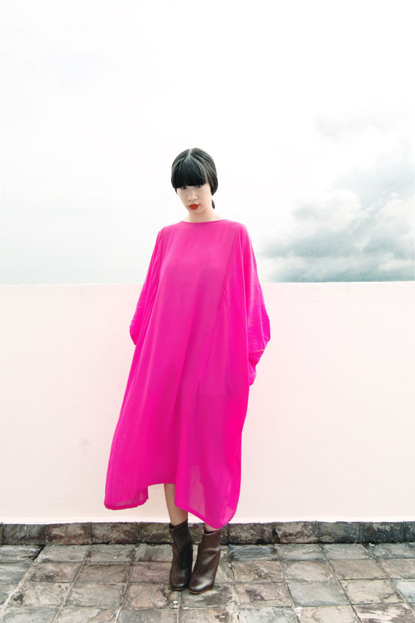 Jil-Sander-Kaftan-Dress